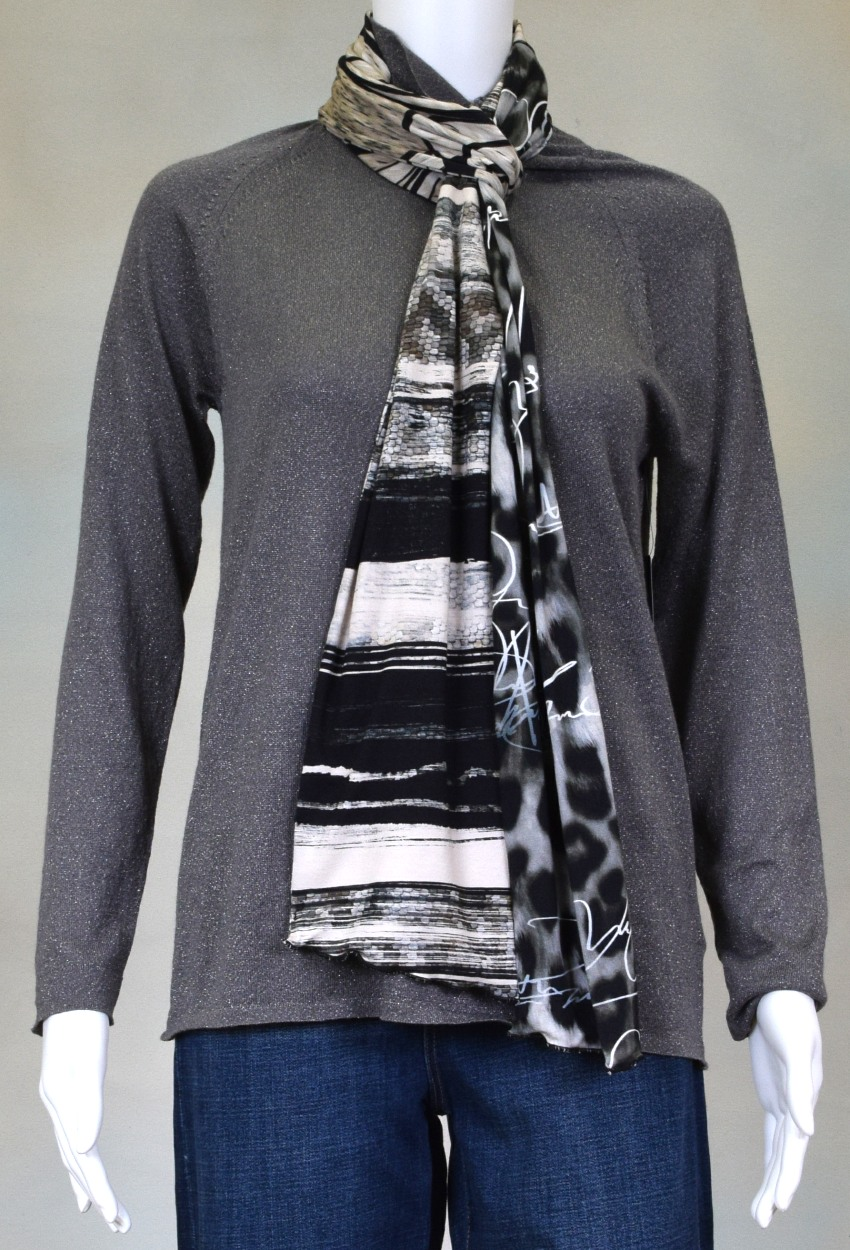 One of a Kind Jersey Scarves Page 1