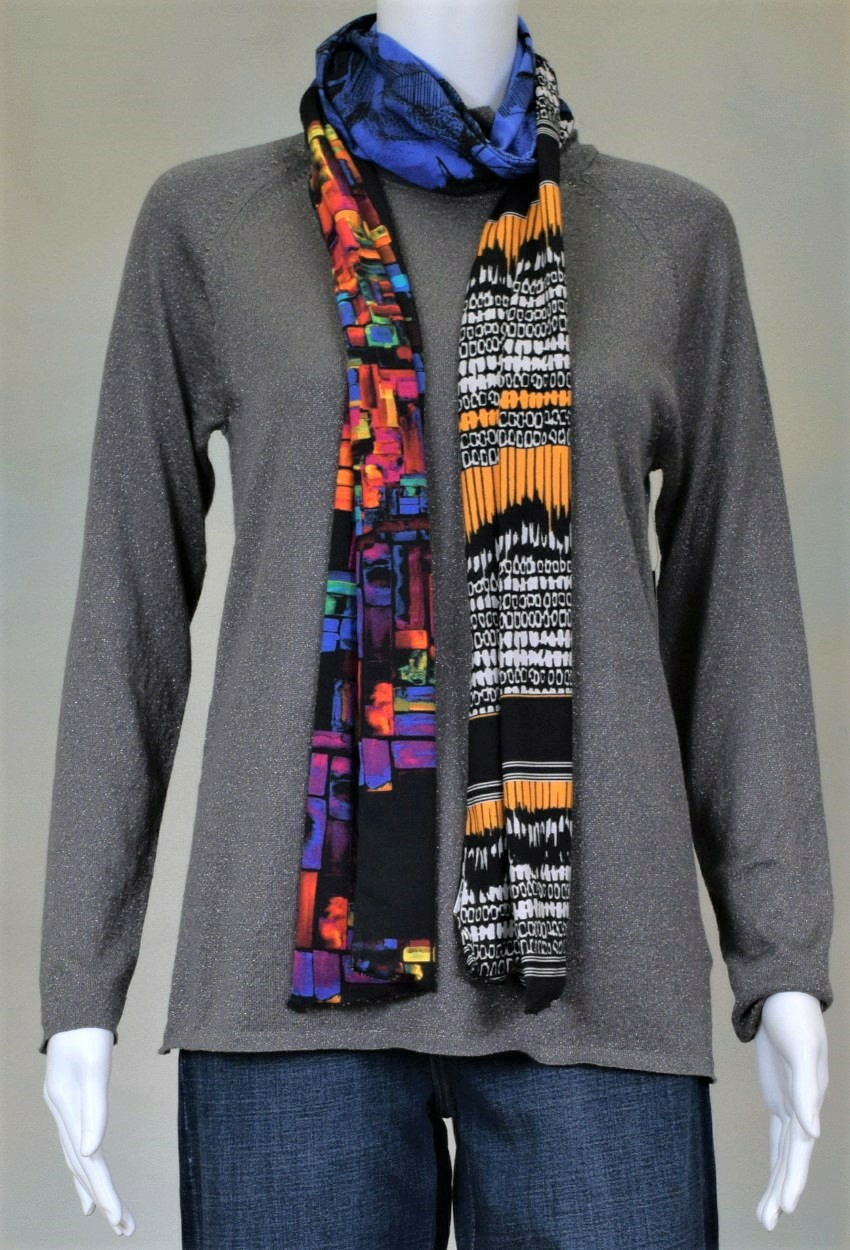 One of a Kind Jersey Scarves Page 6