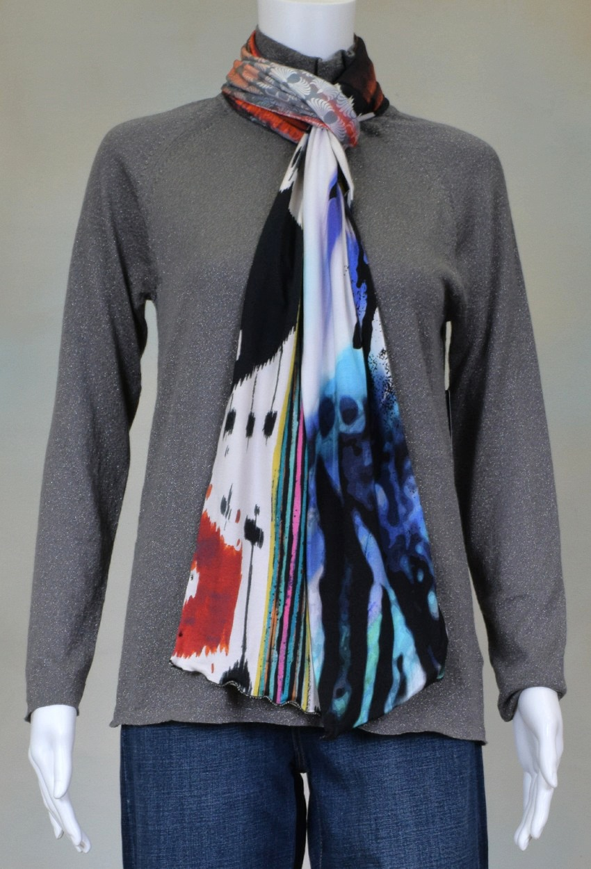 One of a Kind Jersey Scarves Page 8