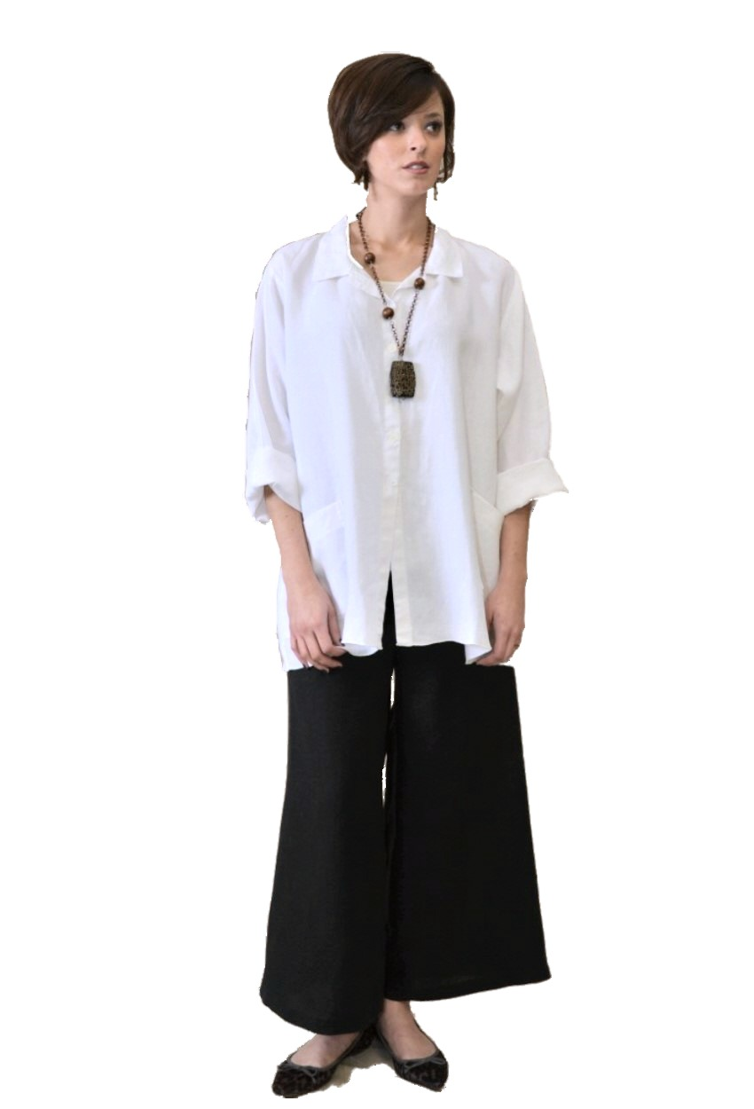 Linen Updated Palazzo Pant