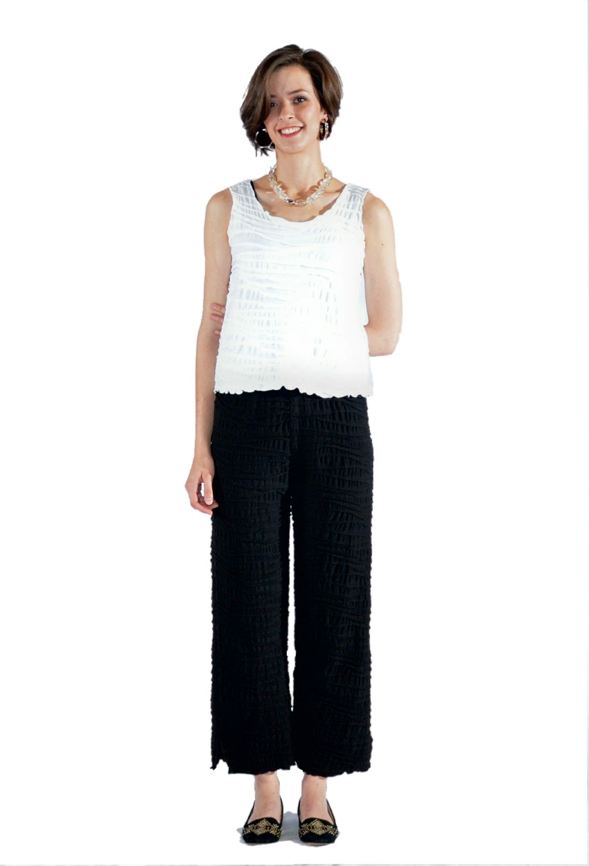 Side Split Crop Pant