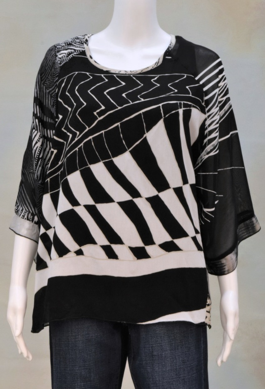 One of a Kind Turnaround Top 001 Size 1