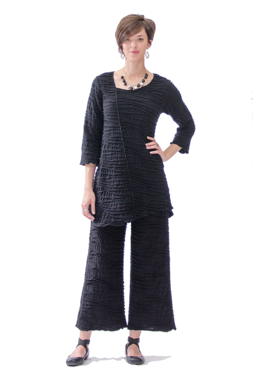 Asymmetric Seam Tunic