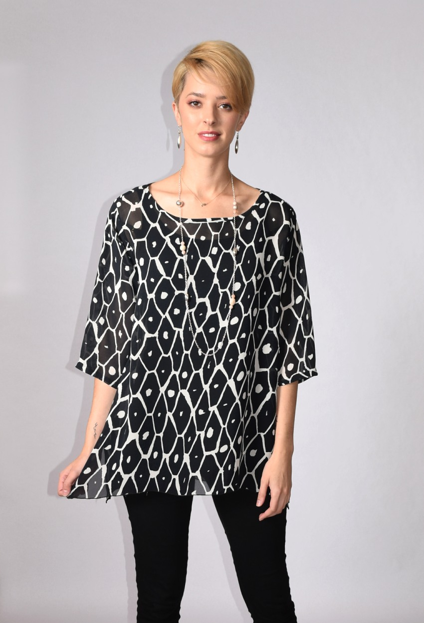 Diamondback Straight Tunic